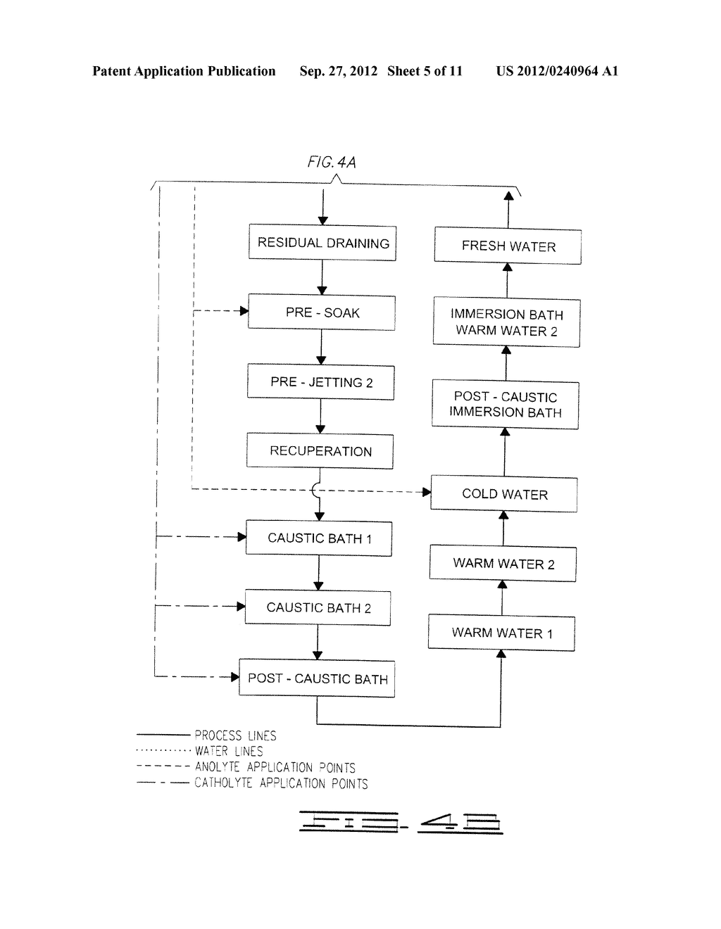 BEVERAGE MANUFACTURE, PROCESSING, PACKAGING AND DISPENSING USING     ELECTROCHEMICALLY ACTIVATED WATER - diagram, schematic, and image 06