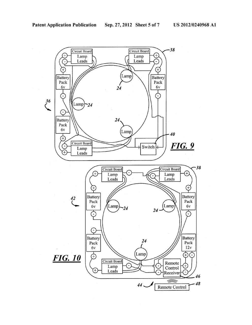 SYSTEM AND APPARATUS FOR SANITIZING A DOOR OPENING DEVICE OR OTHER POINT     OF CONTACT - diagram, schematic, and image 06