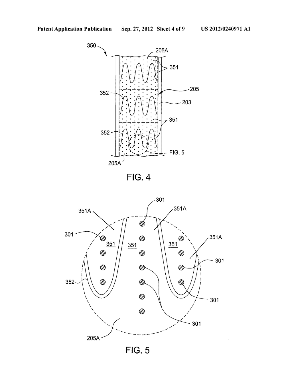 PROCESS FOR FORMING FLEXIBLE SUBSTRATES HAVING PATTERNED CONTACT AREAS - diagram, schematic, and image 05
