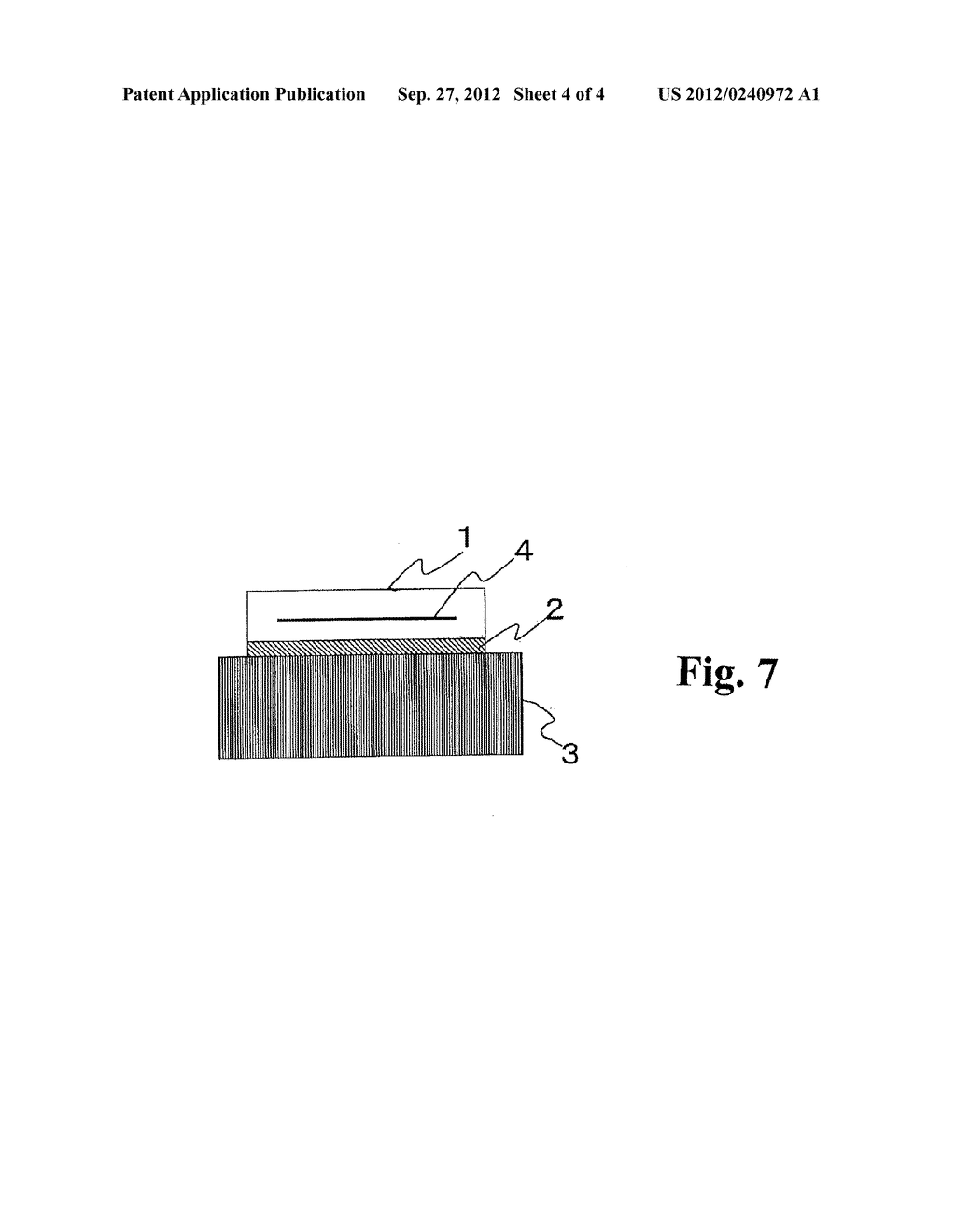 SOLAR CELL MODULE BONDING STRUCTURE AND METHOD OF INSTALLING THE SAME - diagram, schematic, and image 05