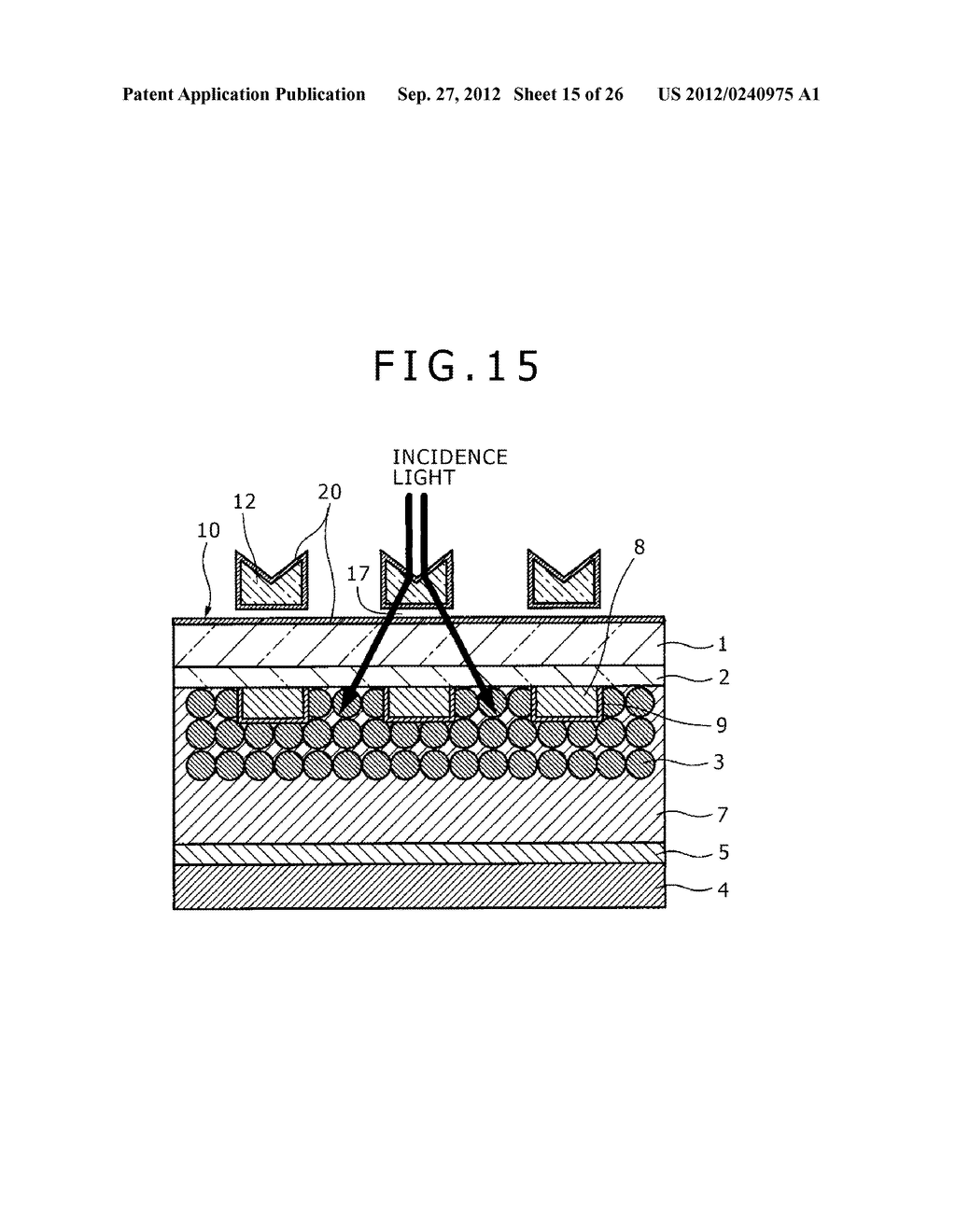 PHOTOELECTRIC CONVERSION DEVICE, PHOTOELECTRIC CONVERSION DEVICE ARRAY,     FABRICATION METHOD FOR PHOTOELECTRIC CONVERSION DEVICE AND ELECTRONIC     APPARATUS - diagram, schematic, and image 16