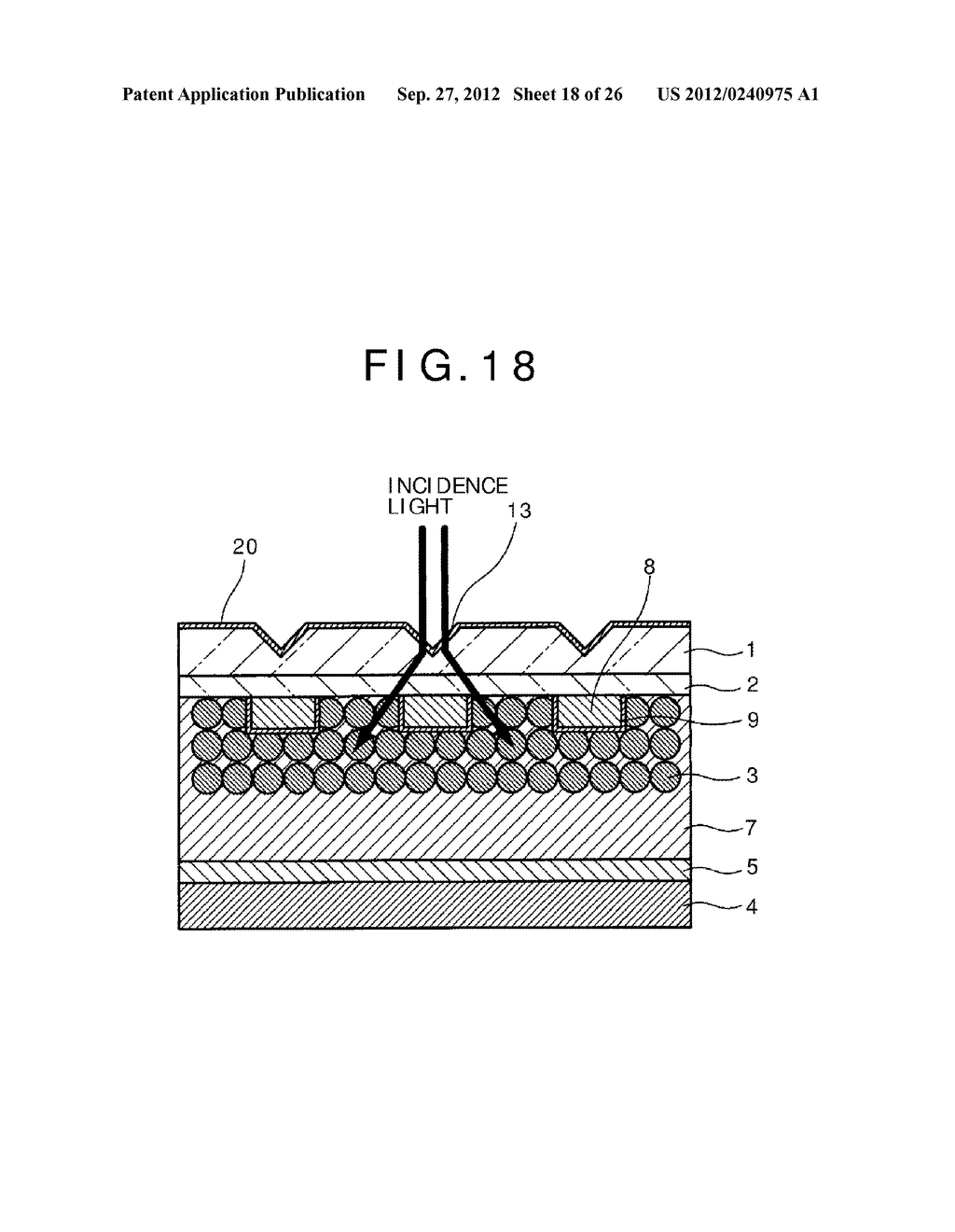 PHOTOELECTRIC CONVERSION DEVICE, PHOTOELECTRIC CONVERSION DEVICE ARRAY,     FABRICATION METHOD FOR PHOTOELECTRIC CONVERSION DEVICE AND ELECTRONIC     APPARATUS - diagram, schematic, and image 19