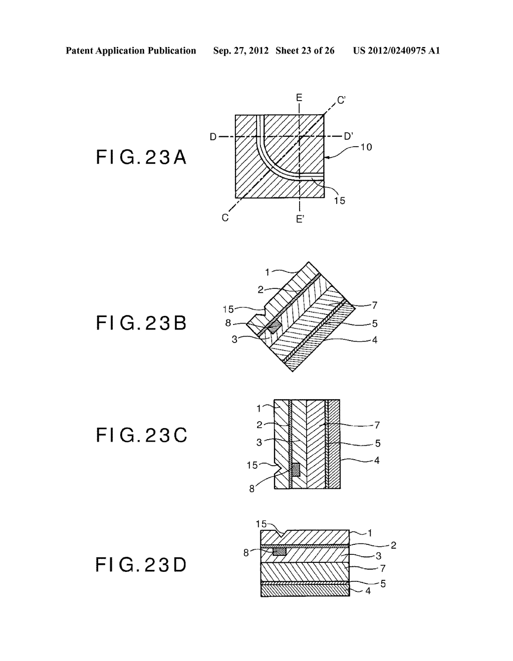 PHOTOELECTRIC CONVERSION DEVICE, PHOTOELECTRIC CONVERSION DEVICE ARRAY,     FABRICATION METHOD FOR PHOTOELECTRIC CONVERSION DEVICE AND ELECTRONIC     APPARATUS - diagram, schematic, and image 24