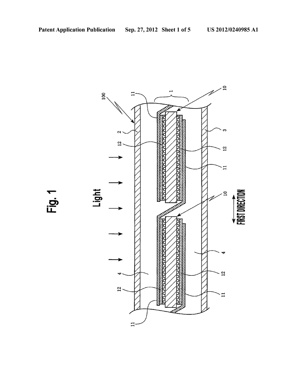 SOLAR CELL STRING AND SOLAR CELL MODULE USING SAME - diagram, schematic, and image 02