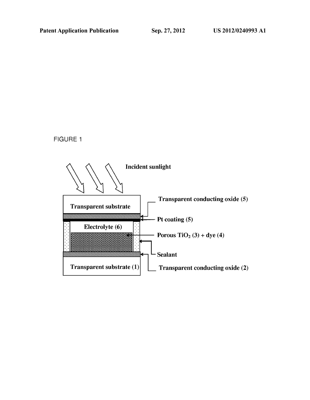LOW TEMPERATURE PLATINISATION FOR DYE-SENSITISED SOLAR CELLS - diagram, schematic, and image 02