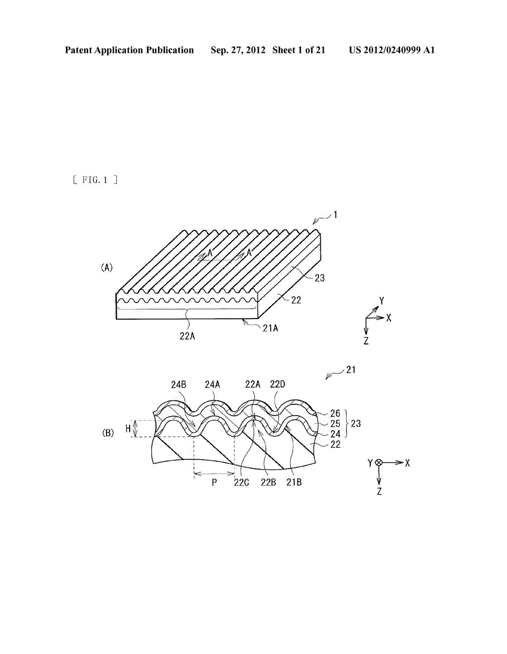 PHOTOELECTRIC CONVERSION DEVICE AND METHOD OF MANUFACTURING PHOTOELECTRIC     CONVERSION DEVICE - diagram, schematic, and image 02