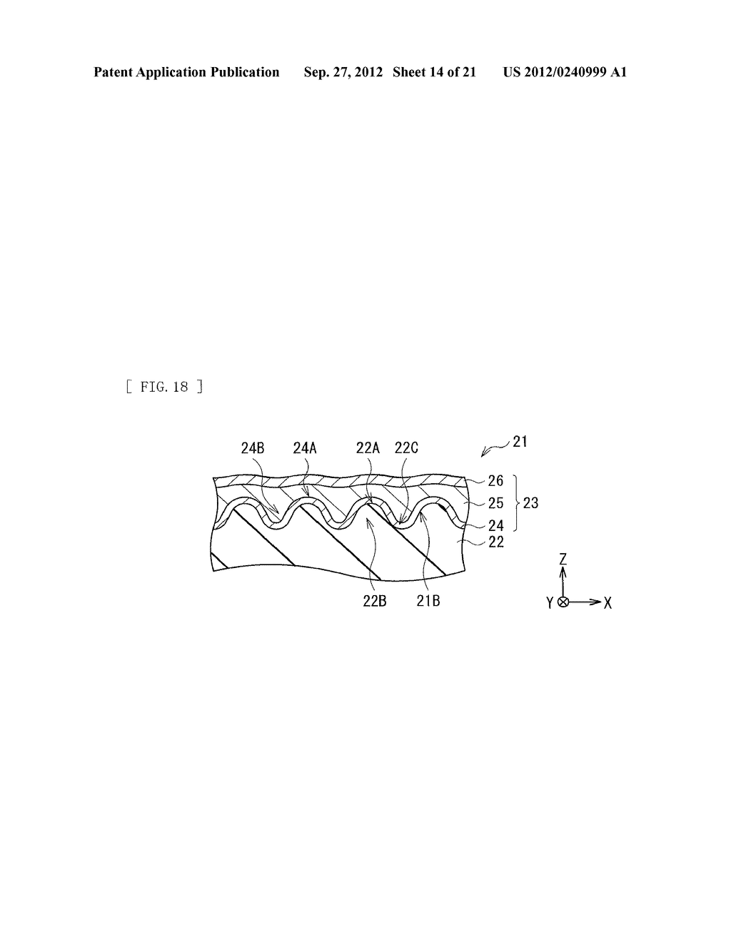 PHOTOELECTRIC CONVERSION DEVICE AND METHOD OF MANUFACTURING PHOTOELECTRIC     CONVERSION DEVICE - diagram, schematic, and image 15