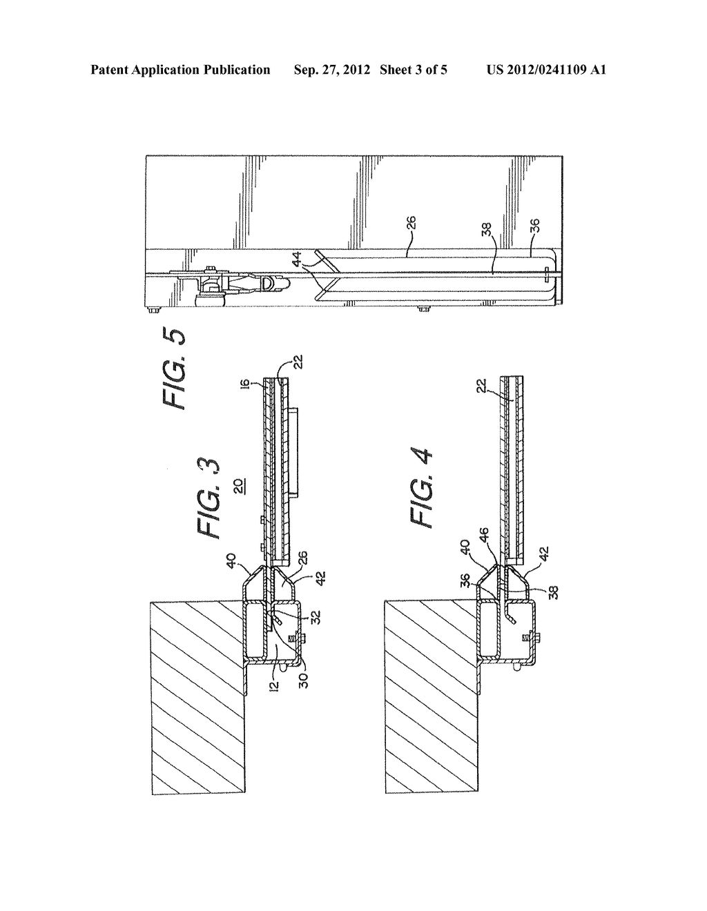 DEVICE AND METHOD FOR INCREASING THE WIND LOAD RESISTANCE AND     DISENGAGE-ABILITY OF OVERHEAD ROLL-UP DOORS - diagram, schematic, and image 04