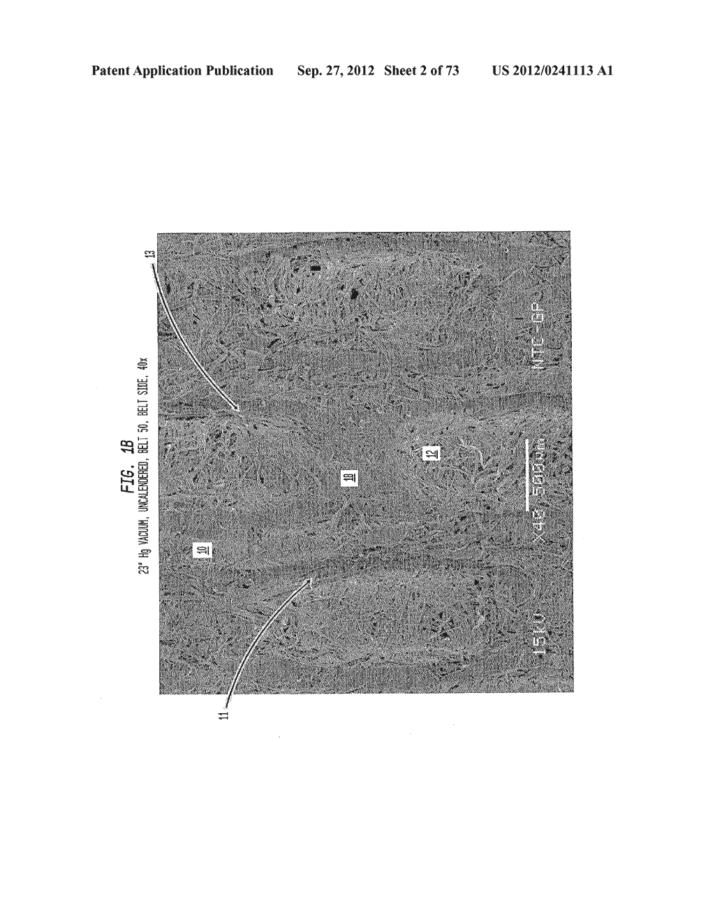 Methods of Making a Belt-Creped Absorbent Cellulosic Sheet Prepared with a     Perforated Polymeric Belt - diagram, schematic, and image 03