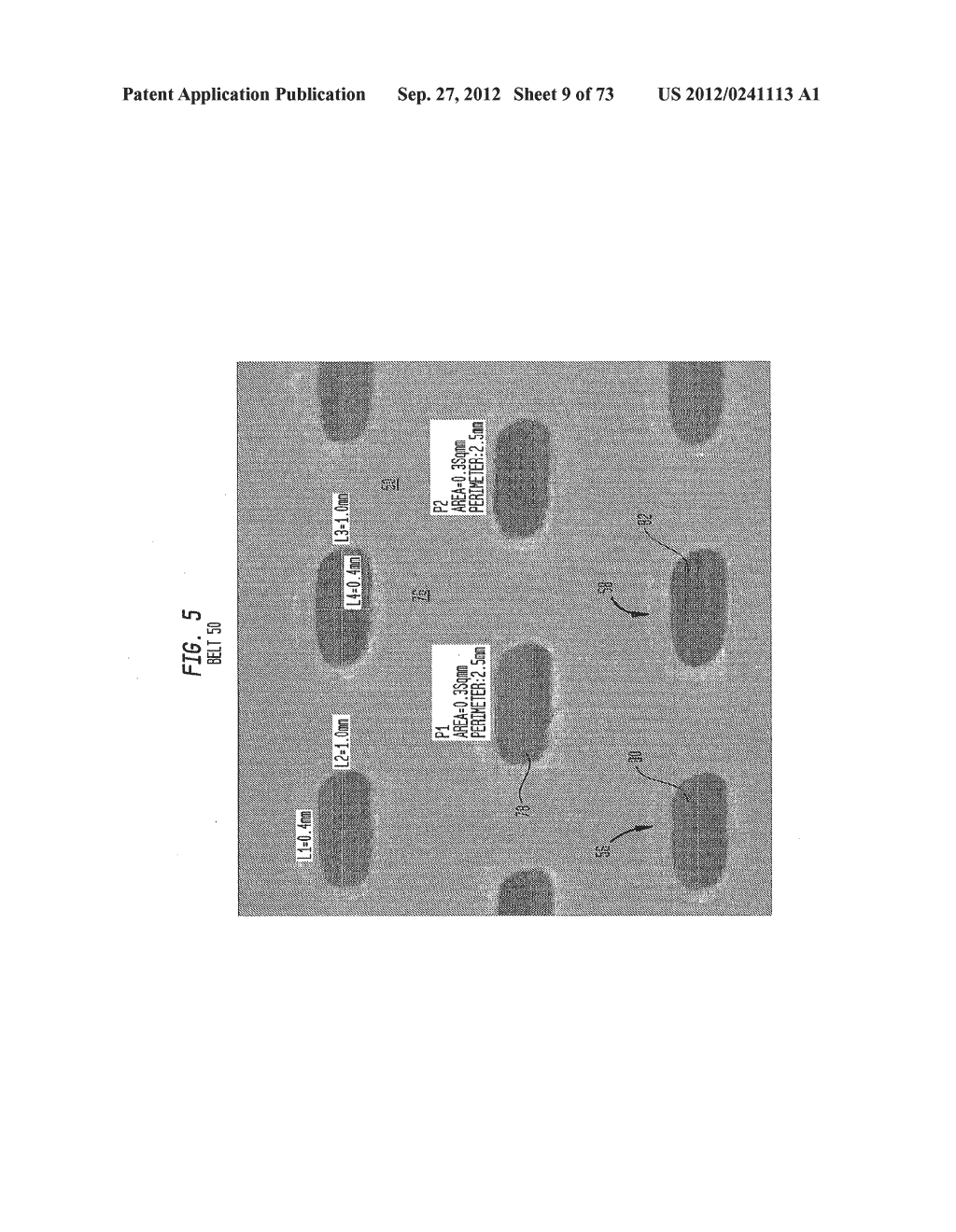 Methods of Making a Belt-Creped Absorbent Cellulosic Sheet Prepared with a     Perforated Polymeric Belt - diagram, schematic, and image 10