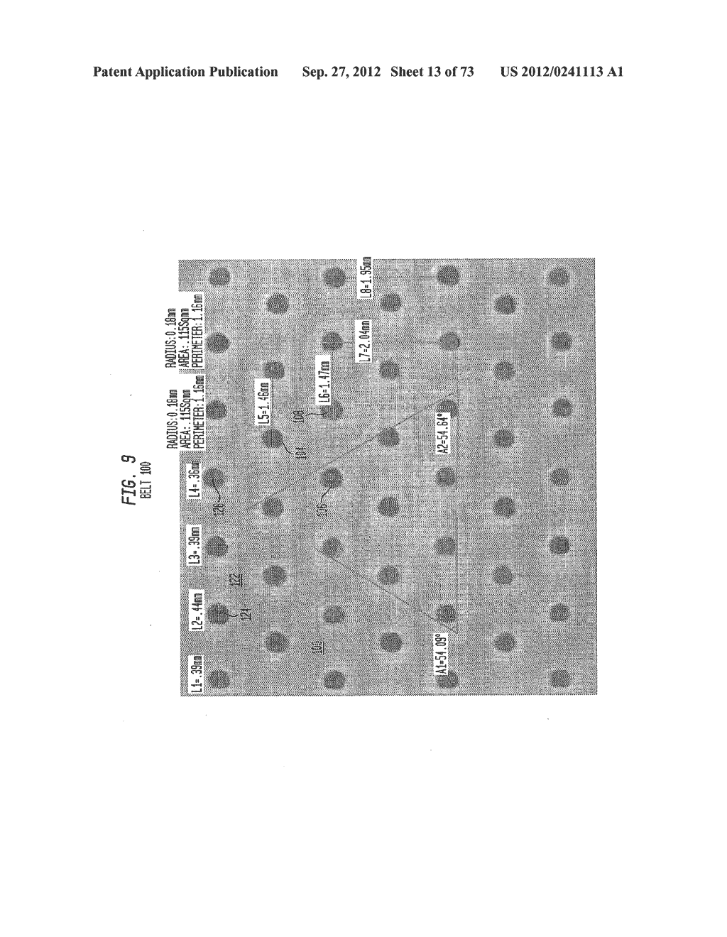 Methods of Making a Belt-Creped Absorbent Cellulosic Sheet Prepared with a     Perforated Polymeric Belt - diagram, schematic, and image 14