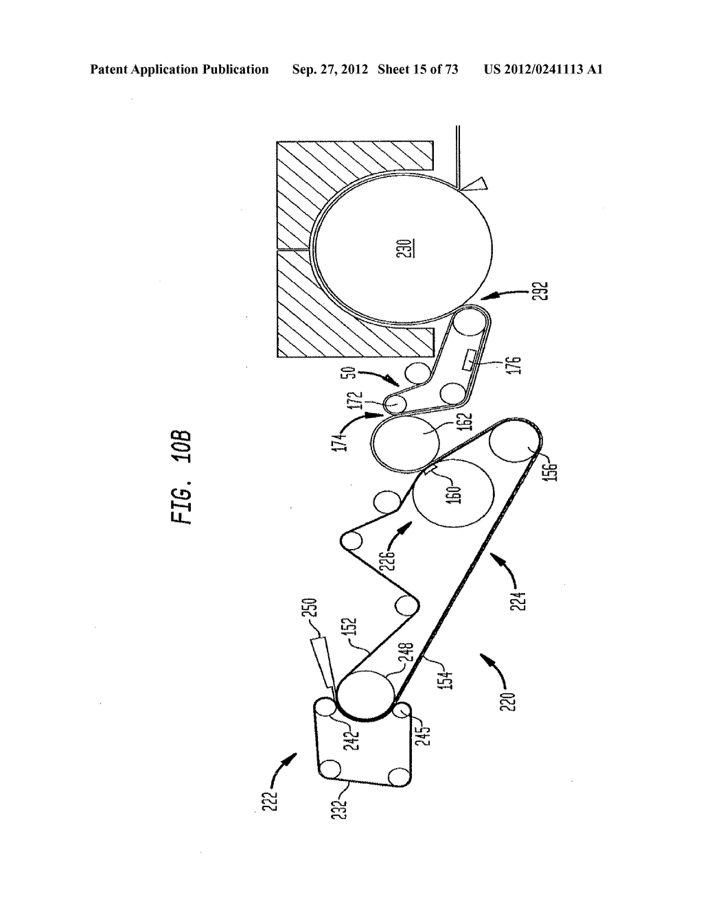 Methods of Making a Belt-Creped Absorbent Cellulosic Sheet Prepared with a     Perforated Polymeric Belt - diagram, schematic, and image 16