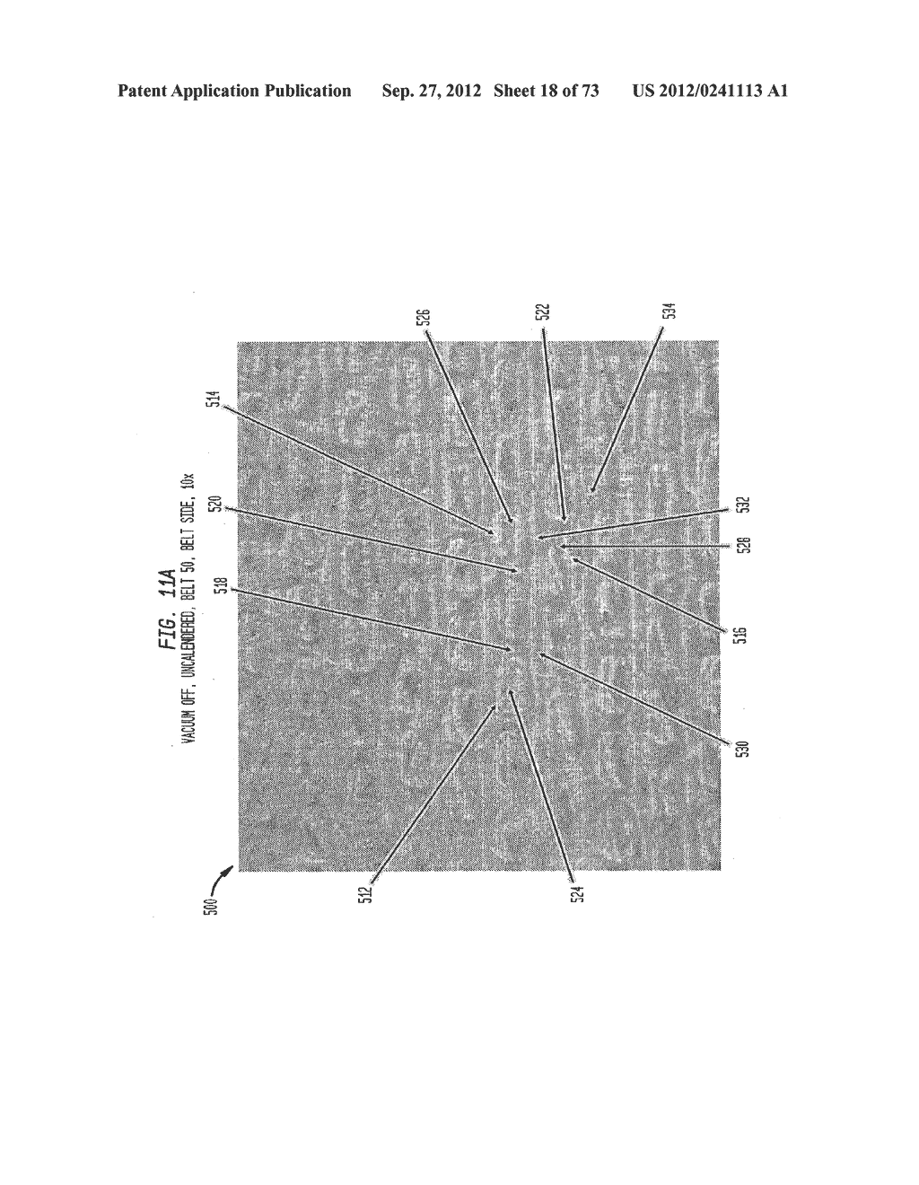 Methods of Making a Belt-Creped Absorbent Cellulosic Sheet Prepared with a     Perforated Polymeric Belt - diagram, schematic, and image 19