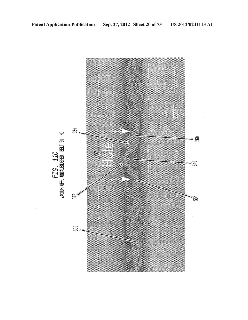 Methods of Making a Belt-Creped Absorbent Cellulosic Sheet Prepared with a     Perforated Polymeric Belt - diagram, schematic, and image 21