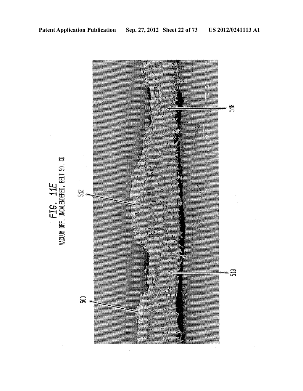 Methods of Making a Belt-Creped Absorbent Cellulosic Sheet Prepared with a     Perforated Polymeric Belt - diagram, schematic, and image 23