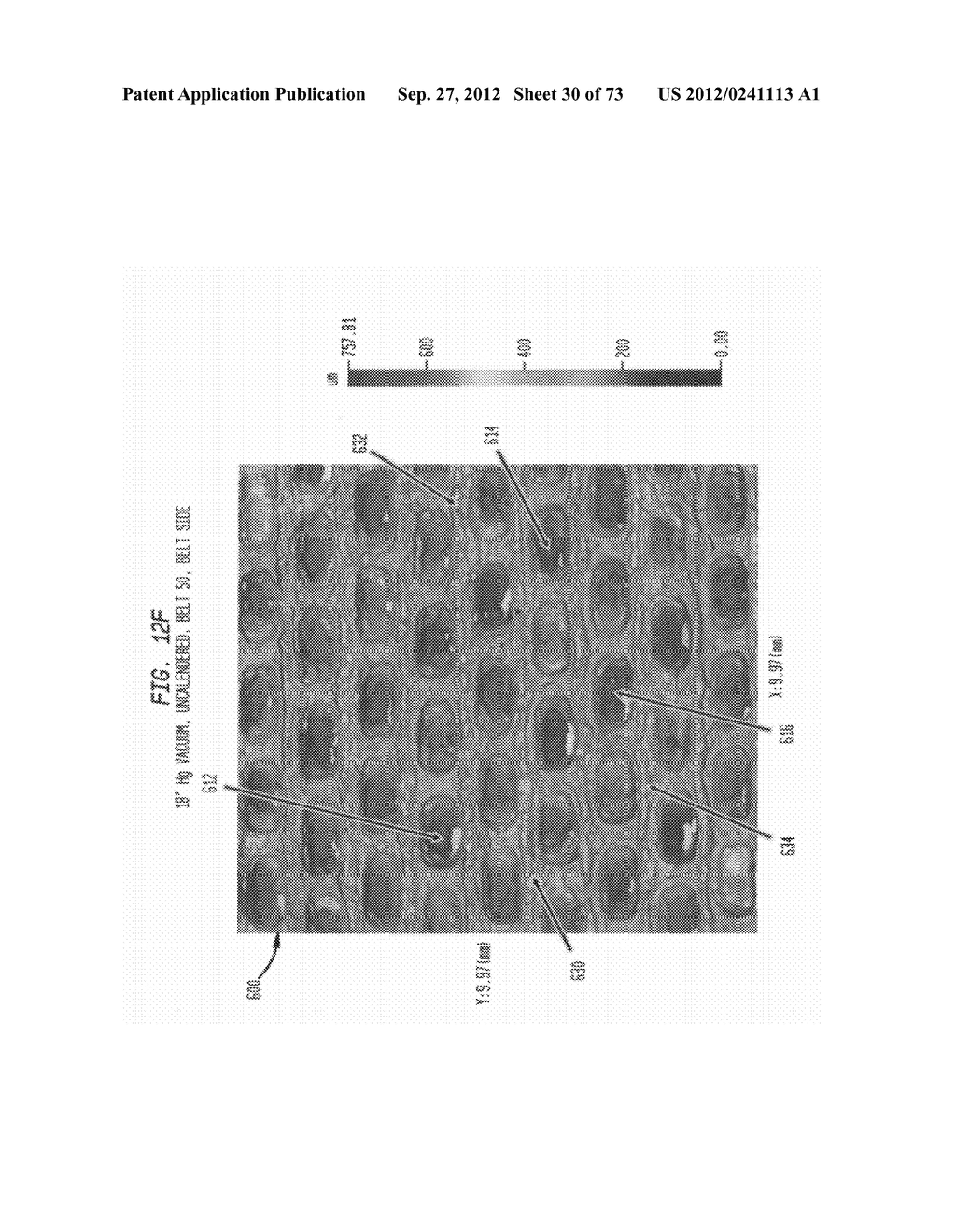 Methods of Making a Belt-Creped Absorbent Cellulosic Sheet Prepared with a     Perforated Polymeric Belt - diagram, schematic, and image 31