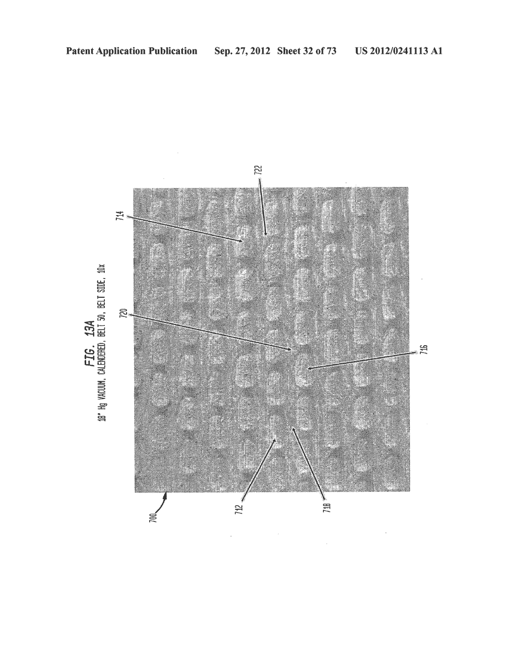 Methods of Making a Belt-Creped Absorbent Cellulosic Sheet Prepared with a     Perforated Polymeric Belt - diagram, schematic, and image 33