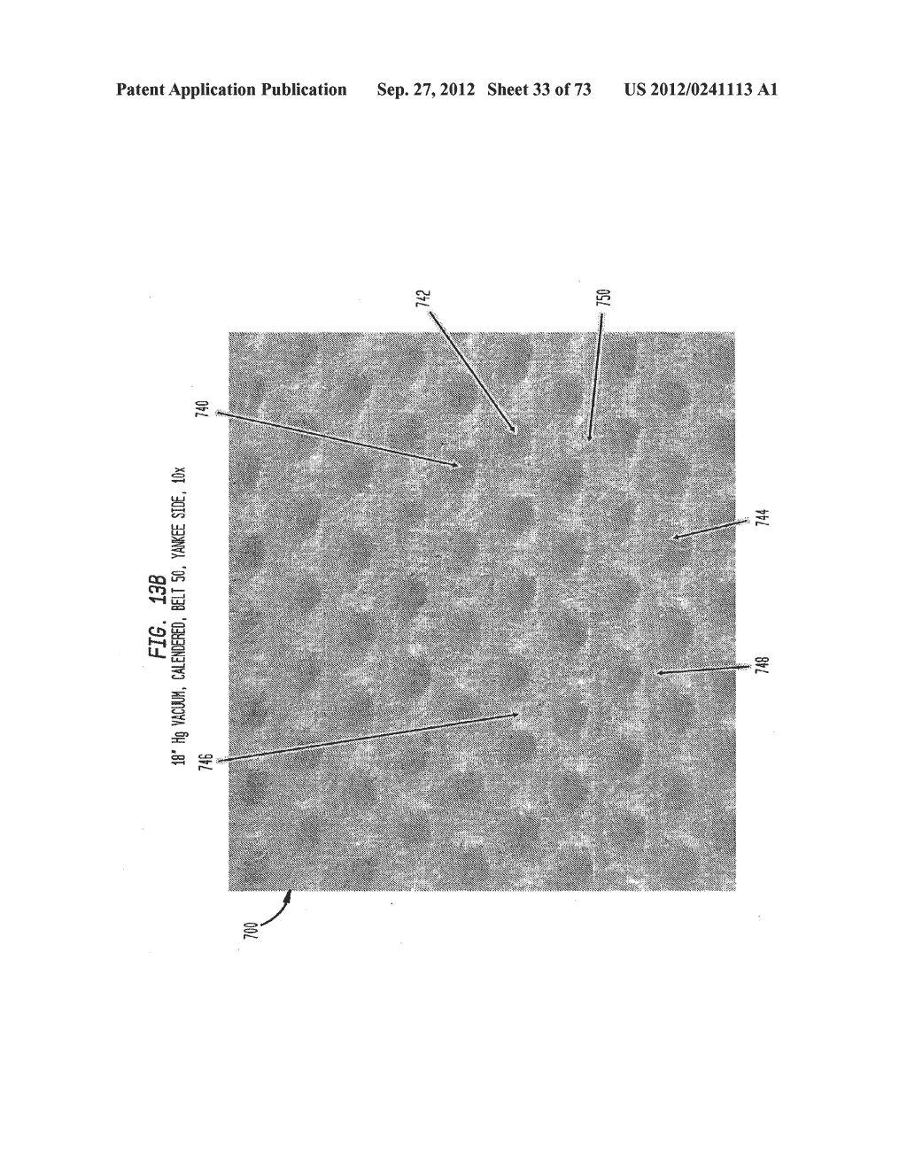 Methods of Making a Belt-Creped Absorbent Cellulosic Sheet Prepared with a     Perforated Polymeric Belt - diagram, schematic, and image 34