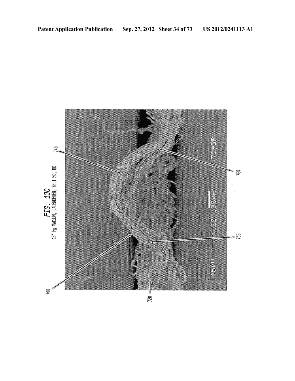 Methods of Making a Belt-Creped Absorbent Cellulosic Sheet Prepared with a     Perforated Polymeric Belt - diagram, schematic, and image 35