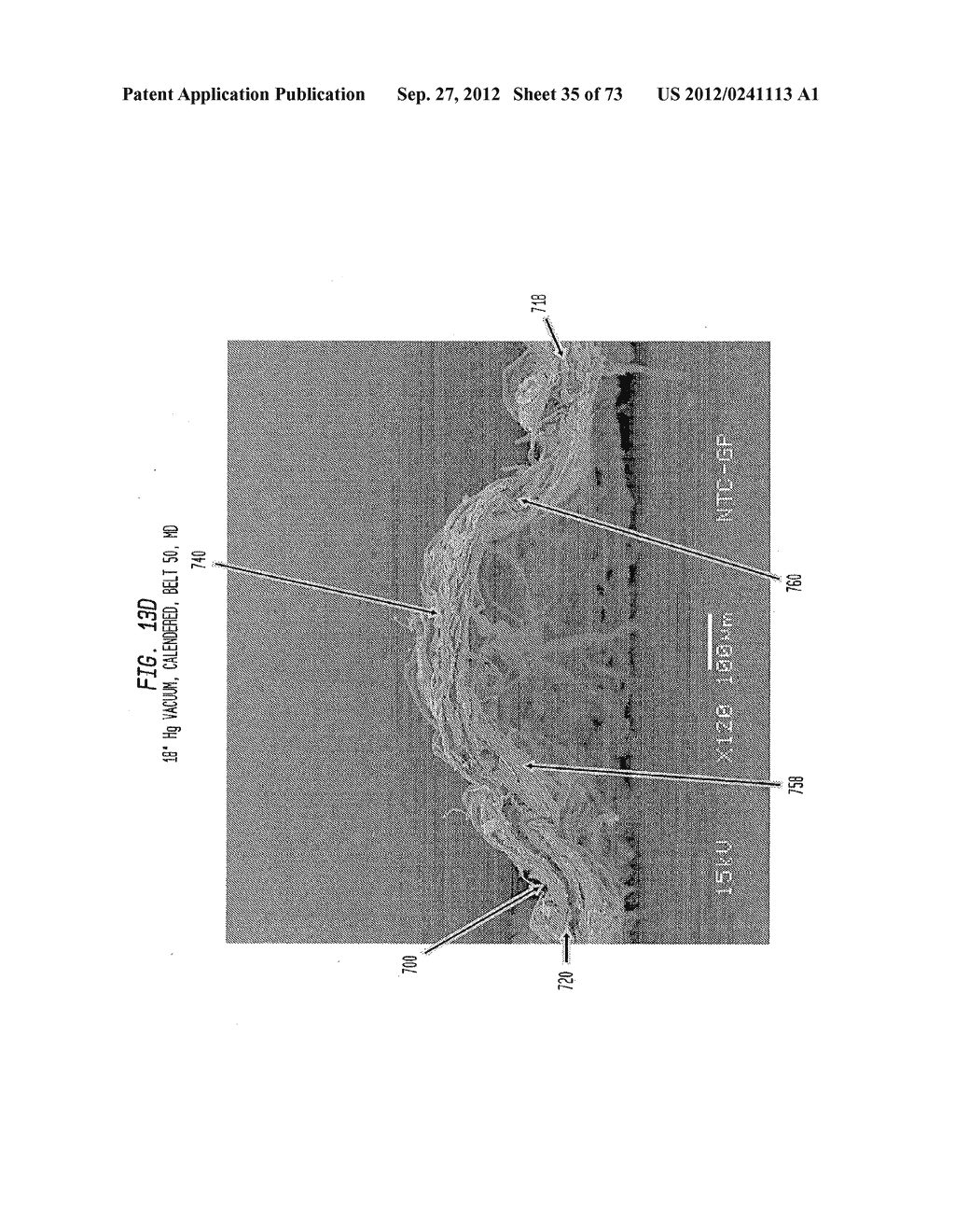 Methods of Making a Belt-Creped Absorbent Cellulosic Sheet Prepared with a     Perforated Polymeric Belt - diagram, schematic, and image 36