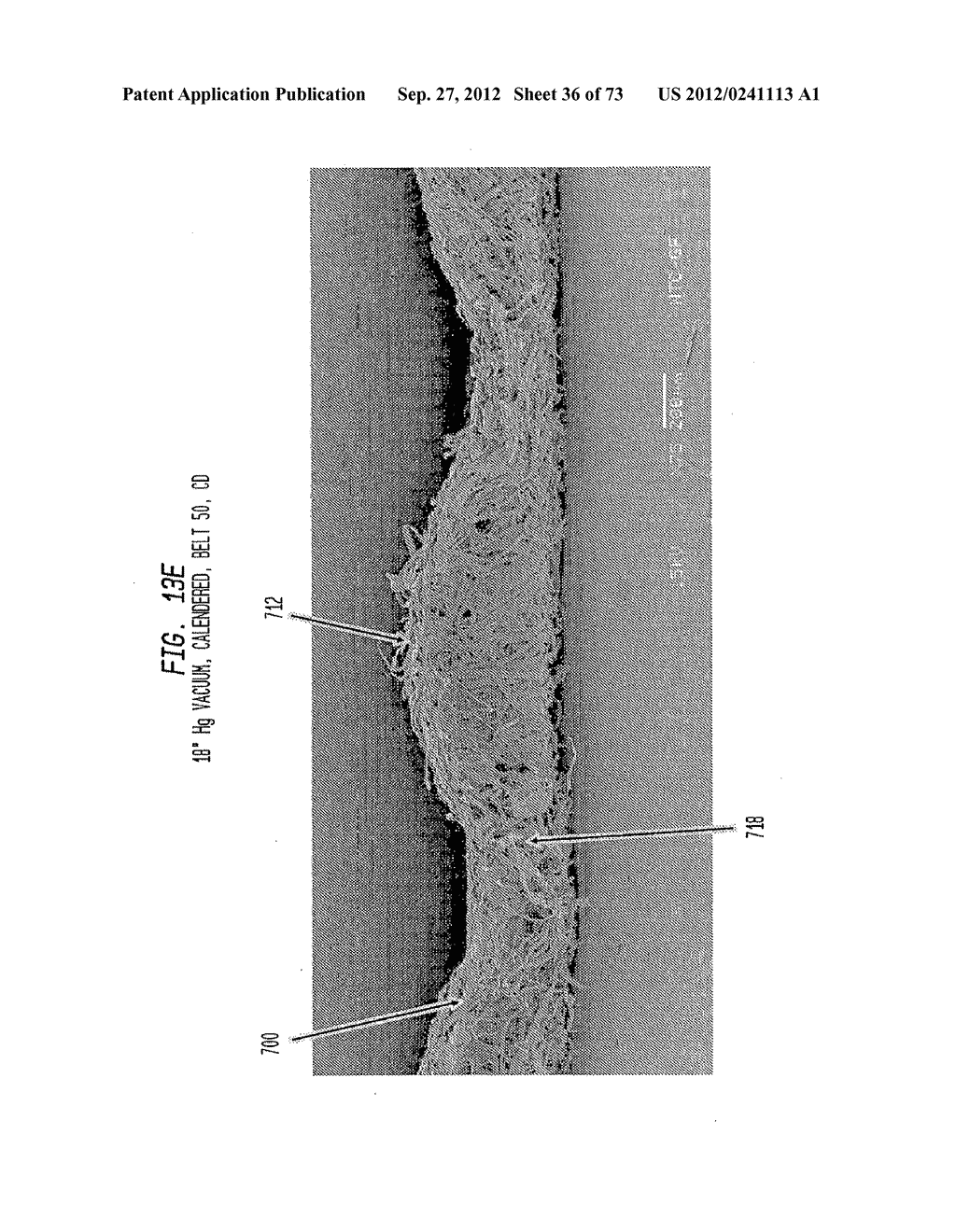 Methods of Making a Belt-Creped Absorbent Cellulosic Sheet Prepared with a     Perforated Polymeric Belt - diagram, schematic, and image 37
