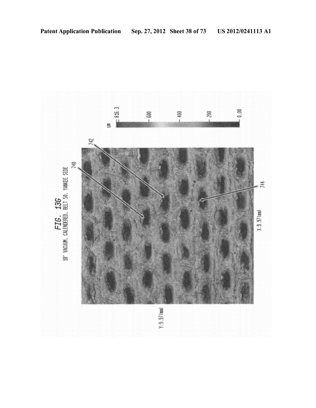 Methods of Making a Belt-Creped Absorbent Cellulosic Sheet Prepared with a     Perforated Polymeric Belt - diagram, schematic, and image 39