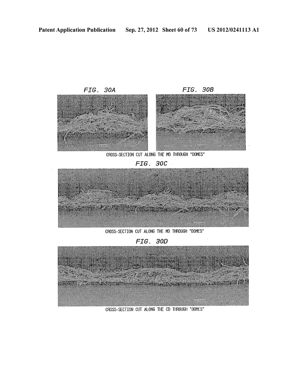 Methods of Making a Belt-Creped Absorbent Cellulosic Sheet Prepared with a     Perforated Polymeric Belt - diagram, schematic, and image 61