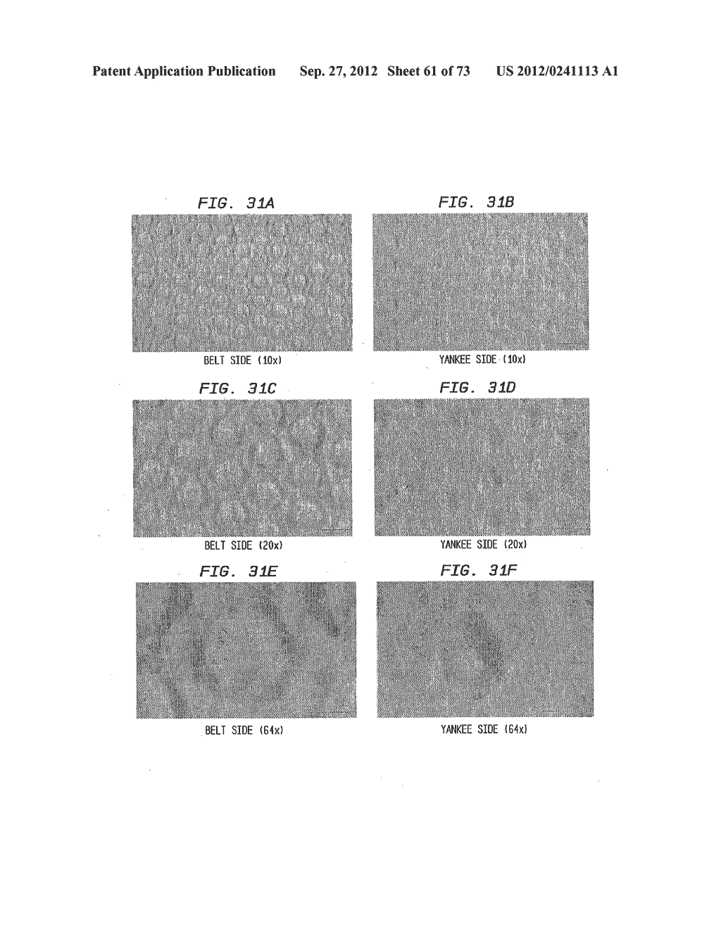 Methods of Making a Belt-Creped Absorbent Cellulosic Sheet Prepared with a     Perforated Polymeric Belt - diagram, schematic, and image 62