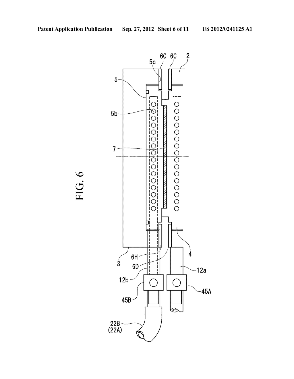 INJECTION MOLDING DEVICE AND METHOD FOR DISCHARGING HEAT MEDIUM FOR     INJECTION MOLDING DEVICE - diagram, schematic, and image 07