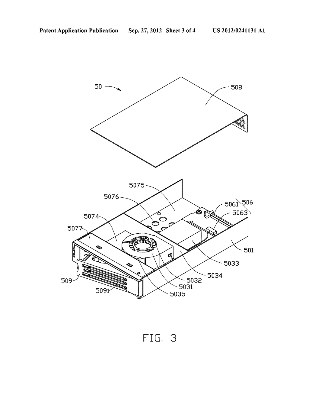 HEAT DISSIPATION DEVICE AND ELECTRONIC DEVICE HAVING SAME - diagram, schematic, and image 04
