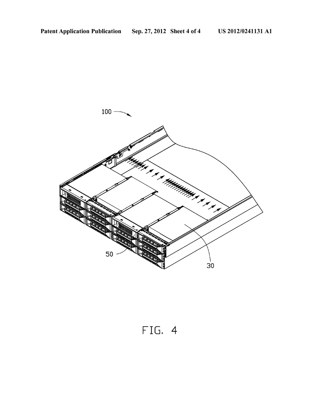 HEAT DISSIPATION DEVICE AND ELECTRONIC DEVICE HAVING SAME - diagram, schematic, and image 05