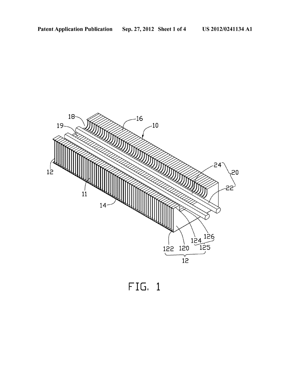 HEAT DISSIPATION DEVICE WITH GUIDING LINE AND SOLDERED HEAT PIPE - diagram, schematic, and image 02