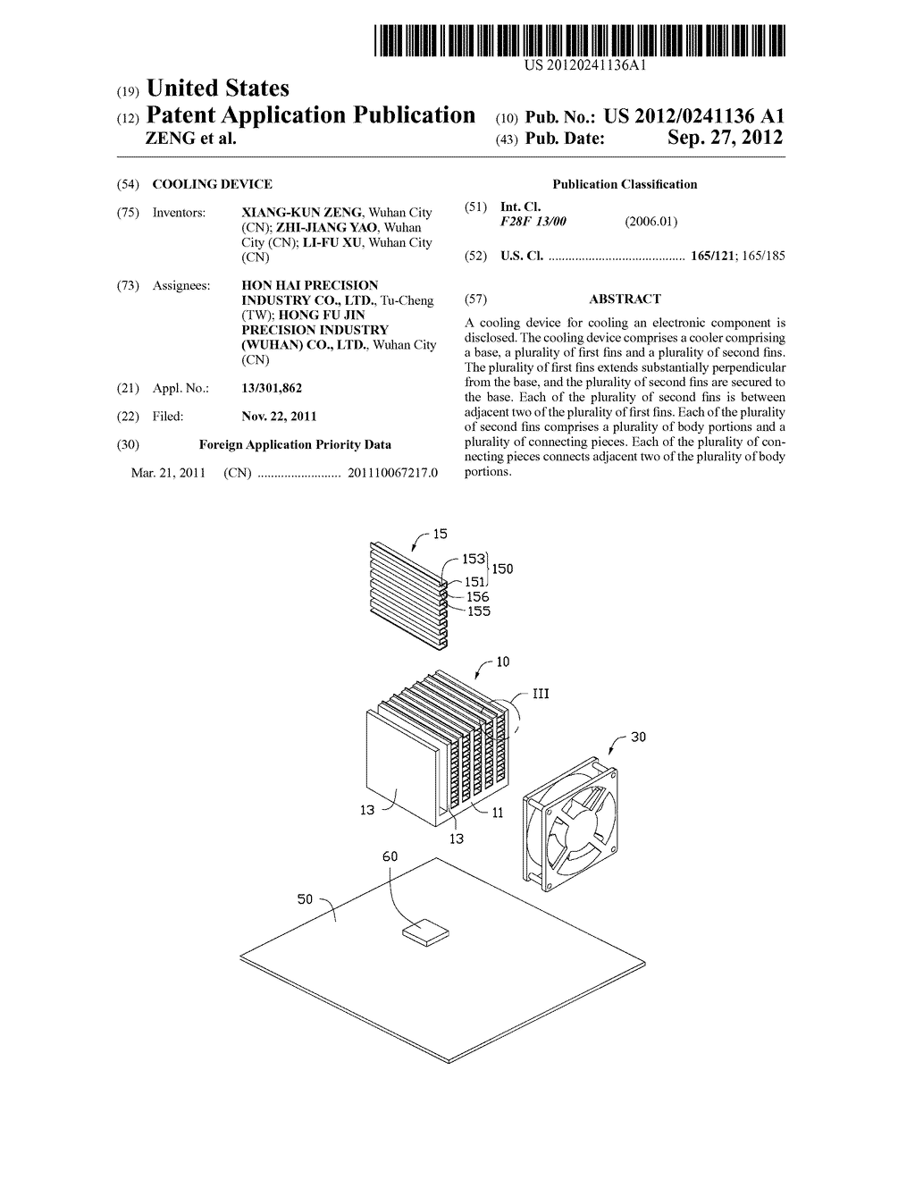 COOLING DEVICE - diagram, schematic, and image 01