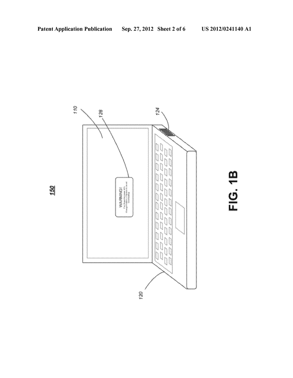 APPARATUS, SYSTEM AND METHOD FOR AIRFLOW MONITORING AND THERMAL MANAGEMENT     IN A COMPUTING DEVICE - diagram, schematic, and image 03