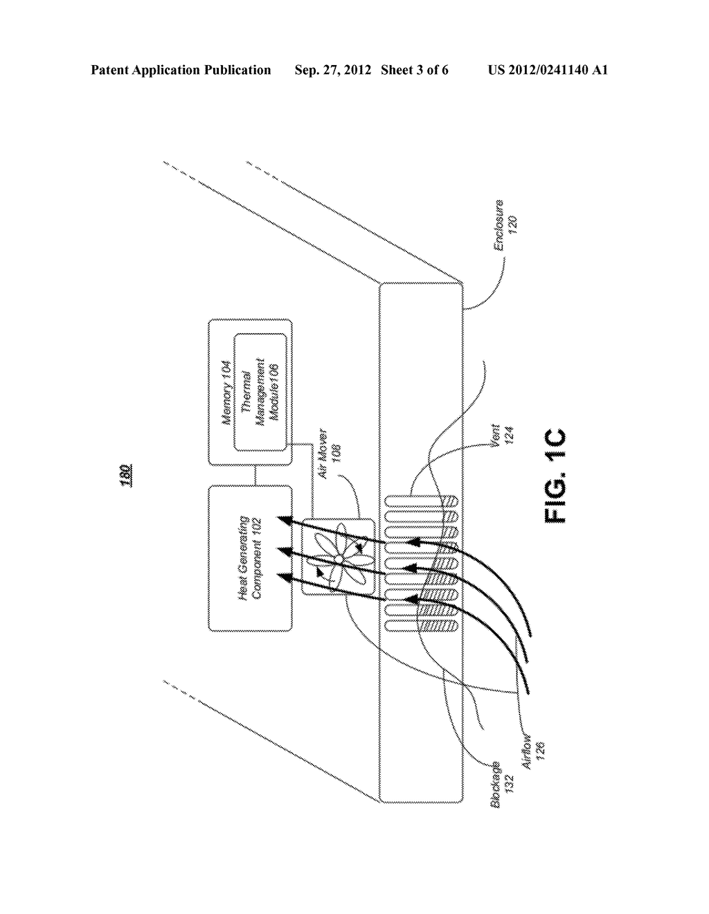 APPARATUS, SYSTEM AND METHOD FOR AIRFLOW MONITORING AND THERMAL MANAGEMENT     IN A COMPUTING DEVICE - diagram, schematic, and image 04