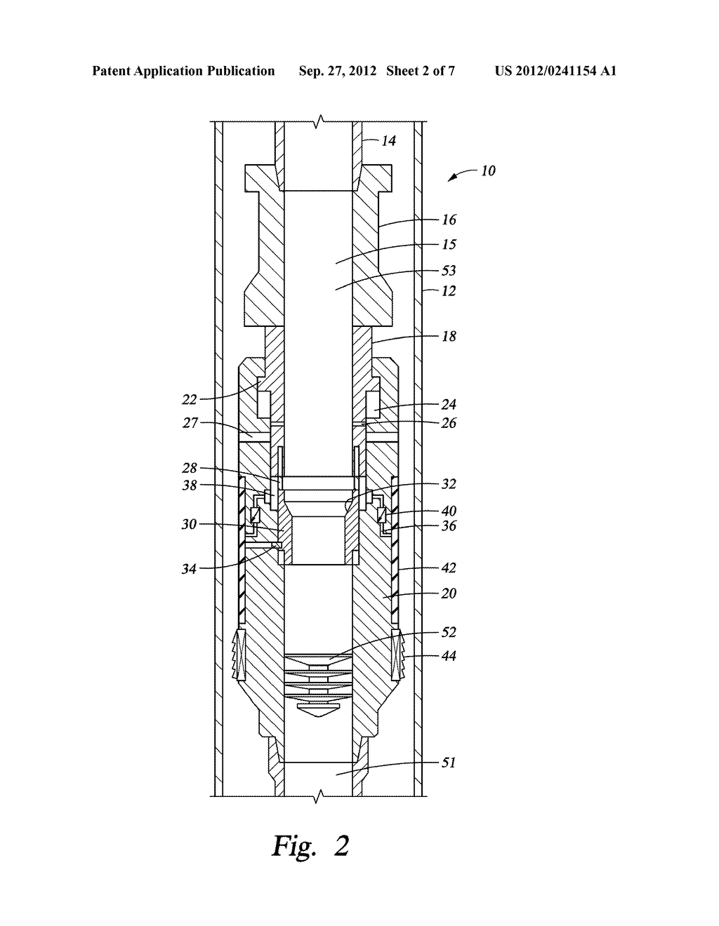 SLIDING  STAGE CEMENTING TOOL - diagram, schematic, and image 03