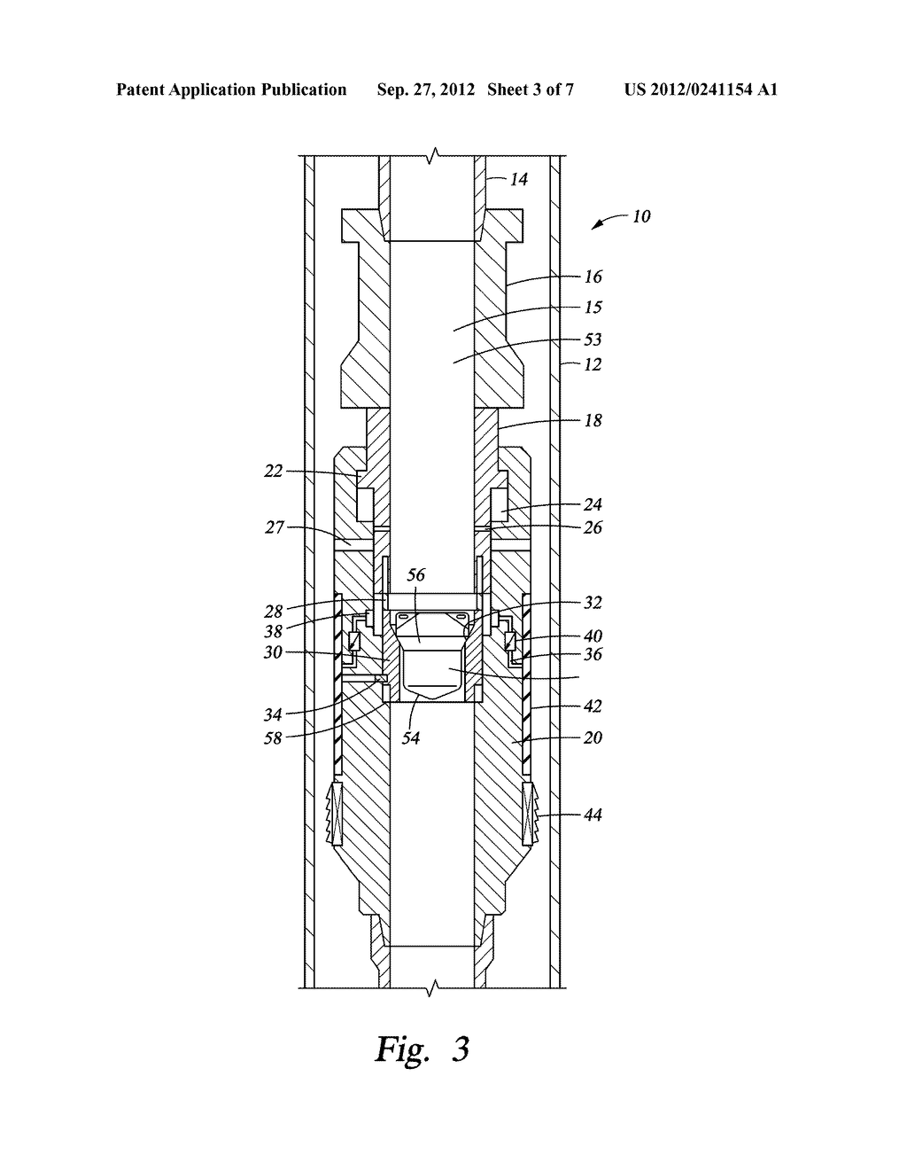 SLIDING  STAGE CEMENTING TOOL - diagram, schematic, and image 04