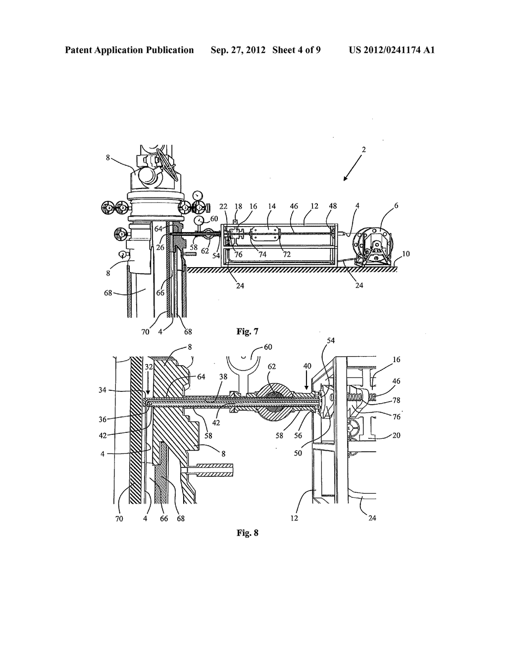 INJECTION MODULE, METHOD FOR USE FOR LATERAL INSERTION AND BENDING OF A     COILED TUBING VIA A SIDE OPENING IN A WELL - diagram, schematic, and image 05