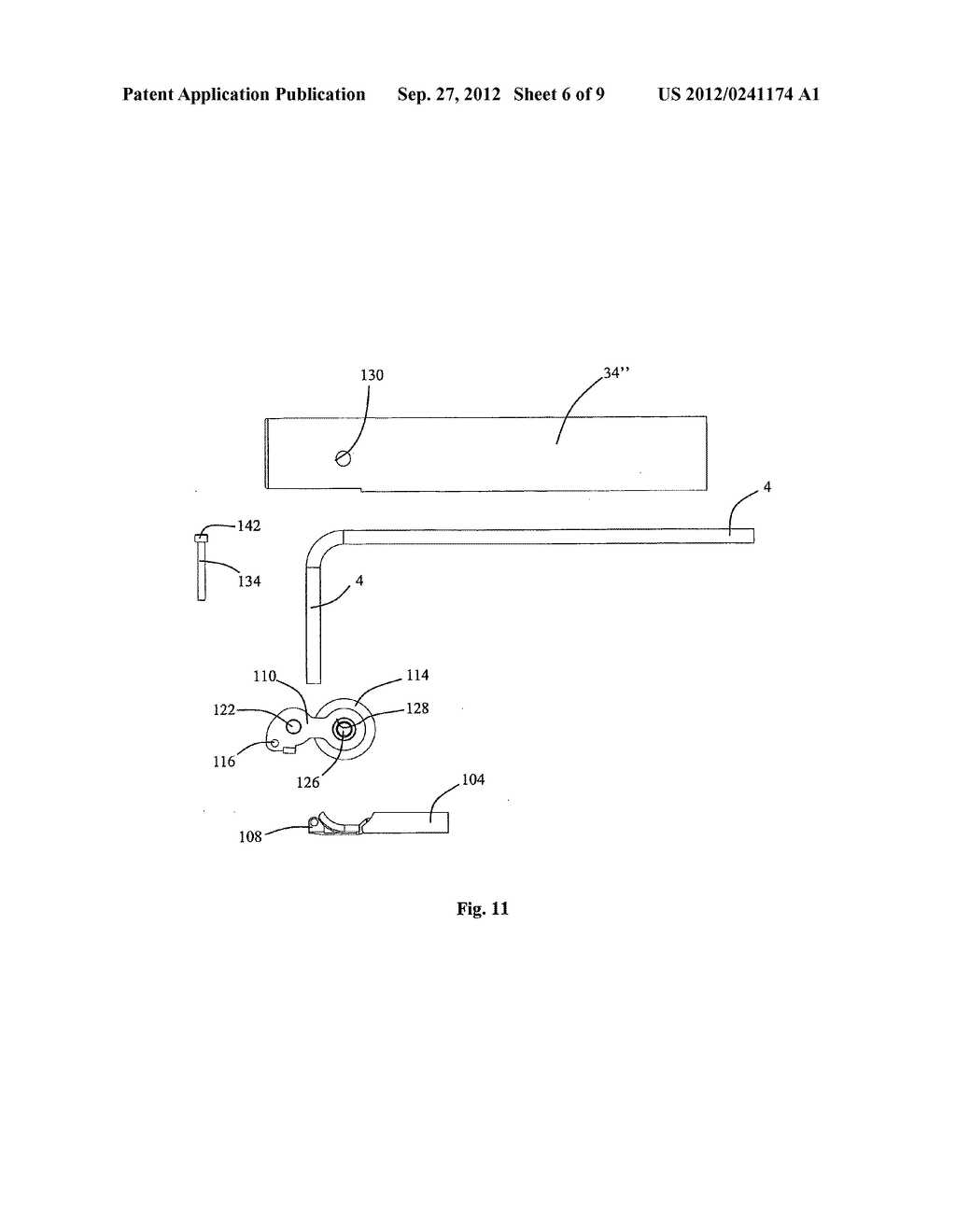 INJECTION MODULE, METHOD FOR USE FOR LATERAL INSERTION AND BENDING OF A     COILED TUBING VIA A SIDE OPENING IN A WELL - diagram, schematic, and image 07