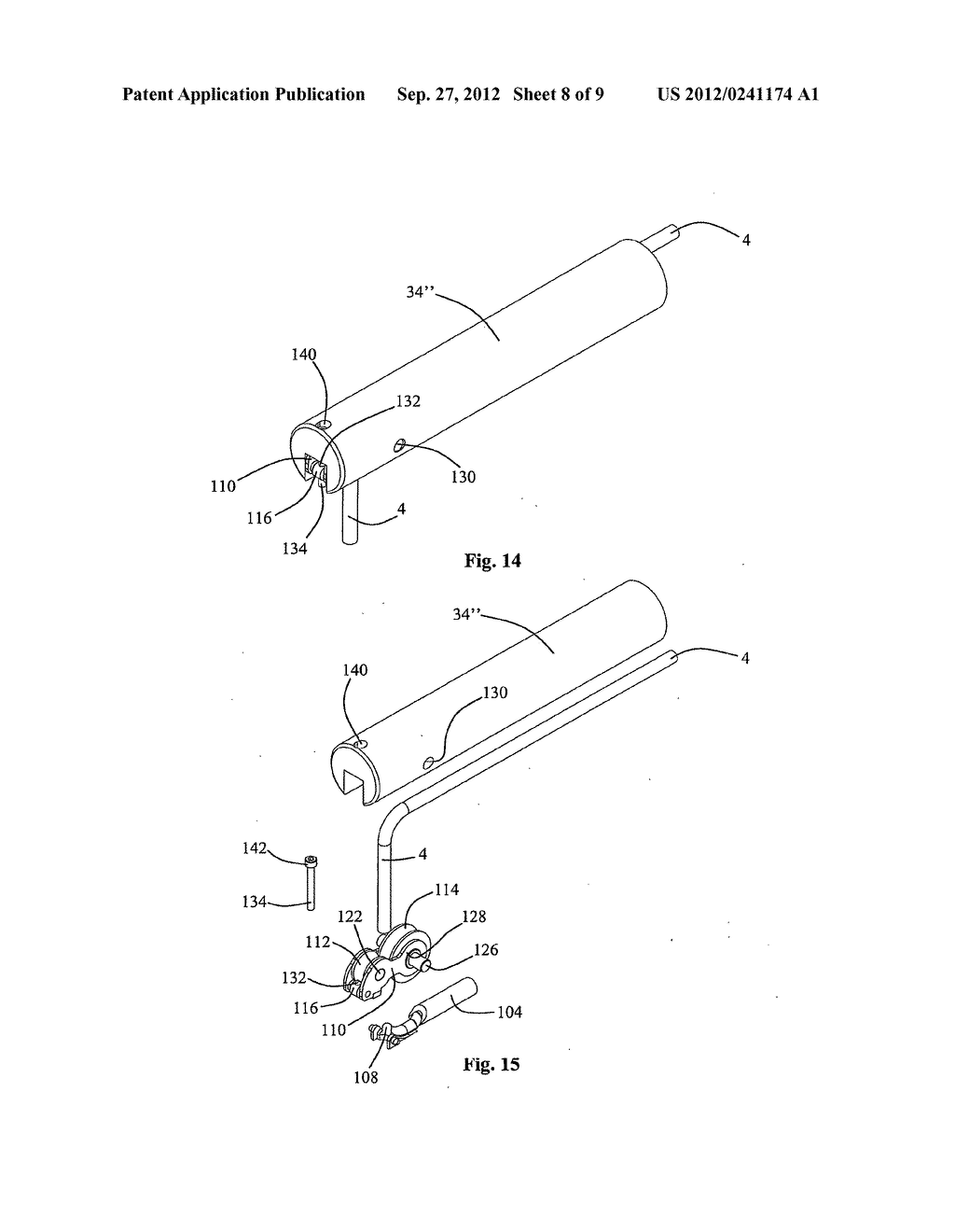 INJECTION MODULE, METHOD FOR USE FOR LATERAL INSERTION AND BENDING OF A     COILED TUBING VIA A SIDE OPENING IN A WELL - diagram, schematic, and image 09