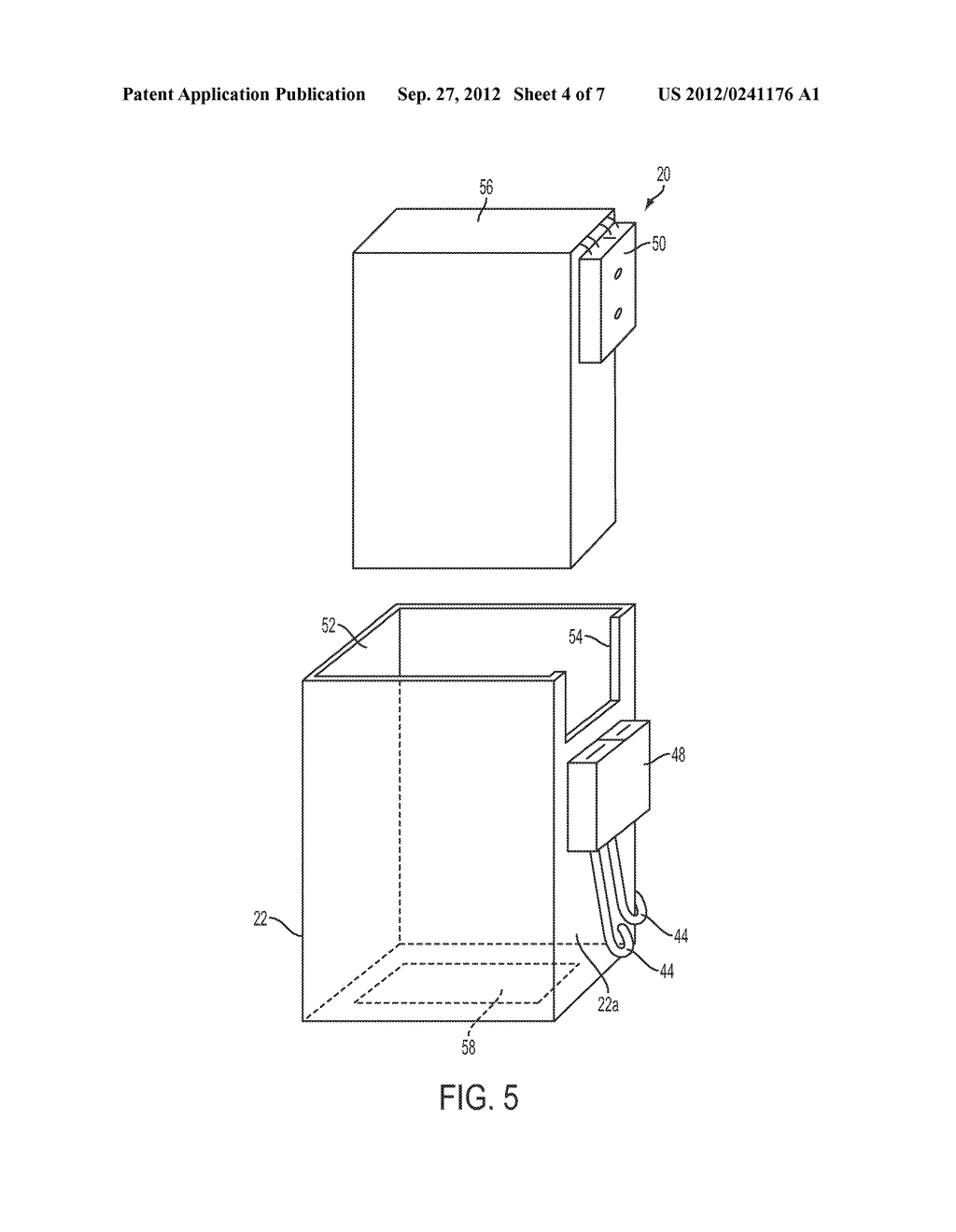 APPARATUS AND METHOD OF SUPPORTING AND POWERING A MONITOR MOUNTED TO A     MULTI-FLOOR PIPE APPARATUS - diagram, schematic, and image 05