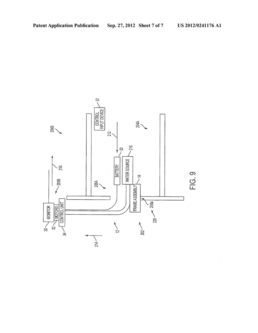 APPARATUS AND METHOD OF SUPPORTING AND POWERING A MONITOR MOUNTED TO A     MULTI-FLOOR PIPE APPARATUS - diagram, schematic, and image 08