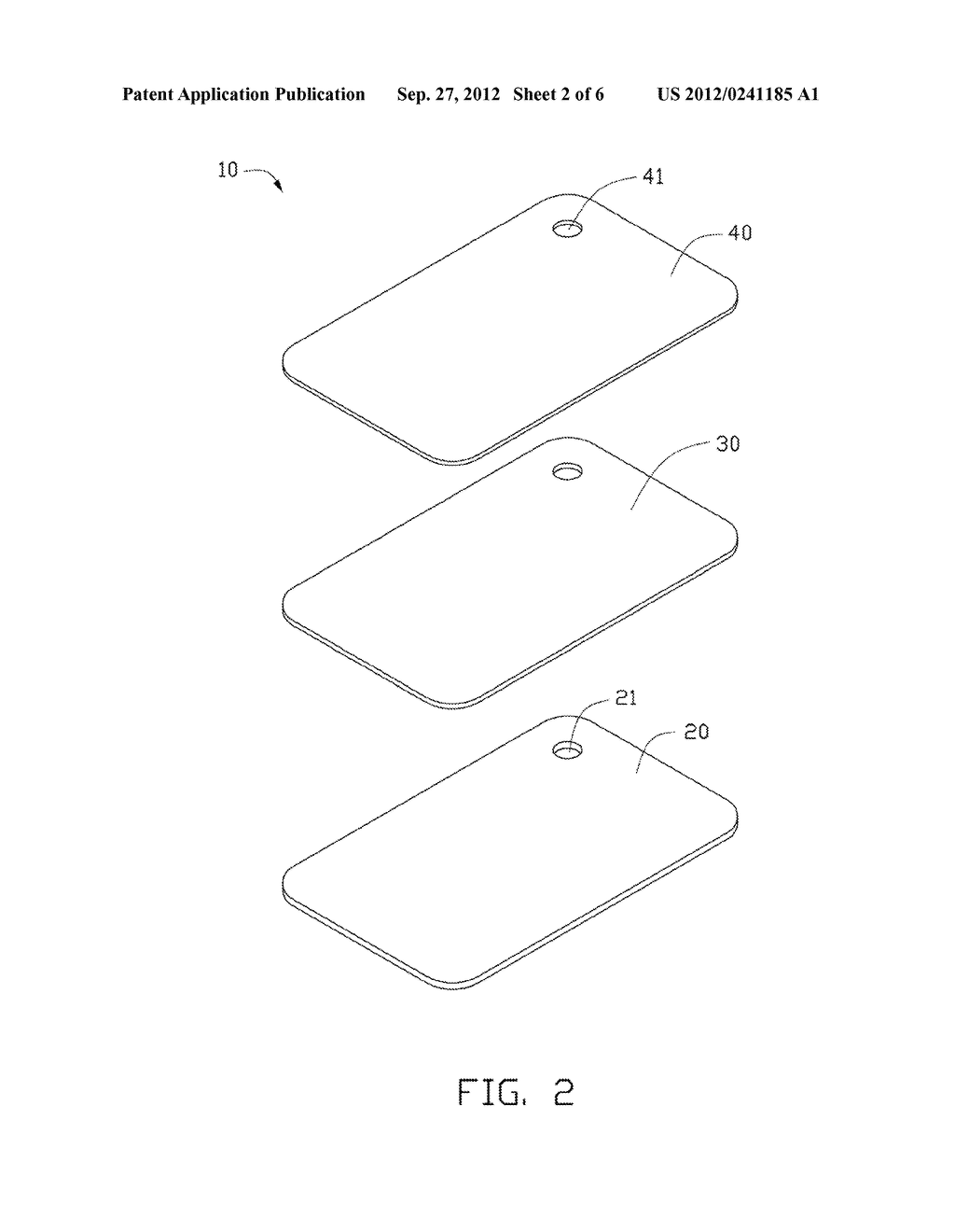 ELECTRONIC DEVICE HOUSING AND METHOD OF MANUFACTURING THE SAME - diagram, schematic, and image 03