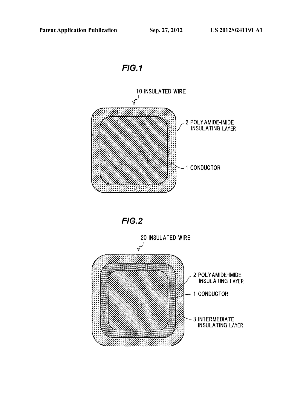INSULATING COATING MATERIAL AND INSULATED WIRE USING THE SAME - diagram, schematic, and image 02