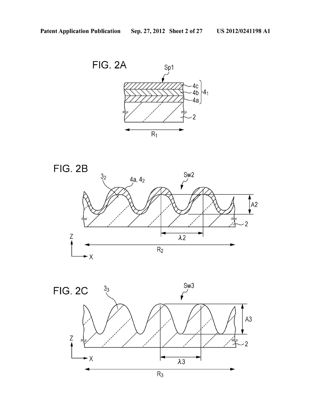 CONDUCTIVE ELEMENT AND METHOD FOR PRODUCING THE SAME, WIRING ELEMENT,     INFORMATION INPUT DEVICE, DISPLAY DEVICE, ELECTRONIC APPARATUS, AND     MASTER - diagram, schematic, and image 03
