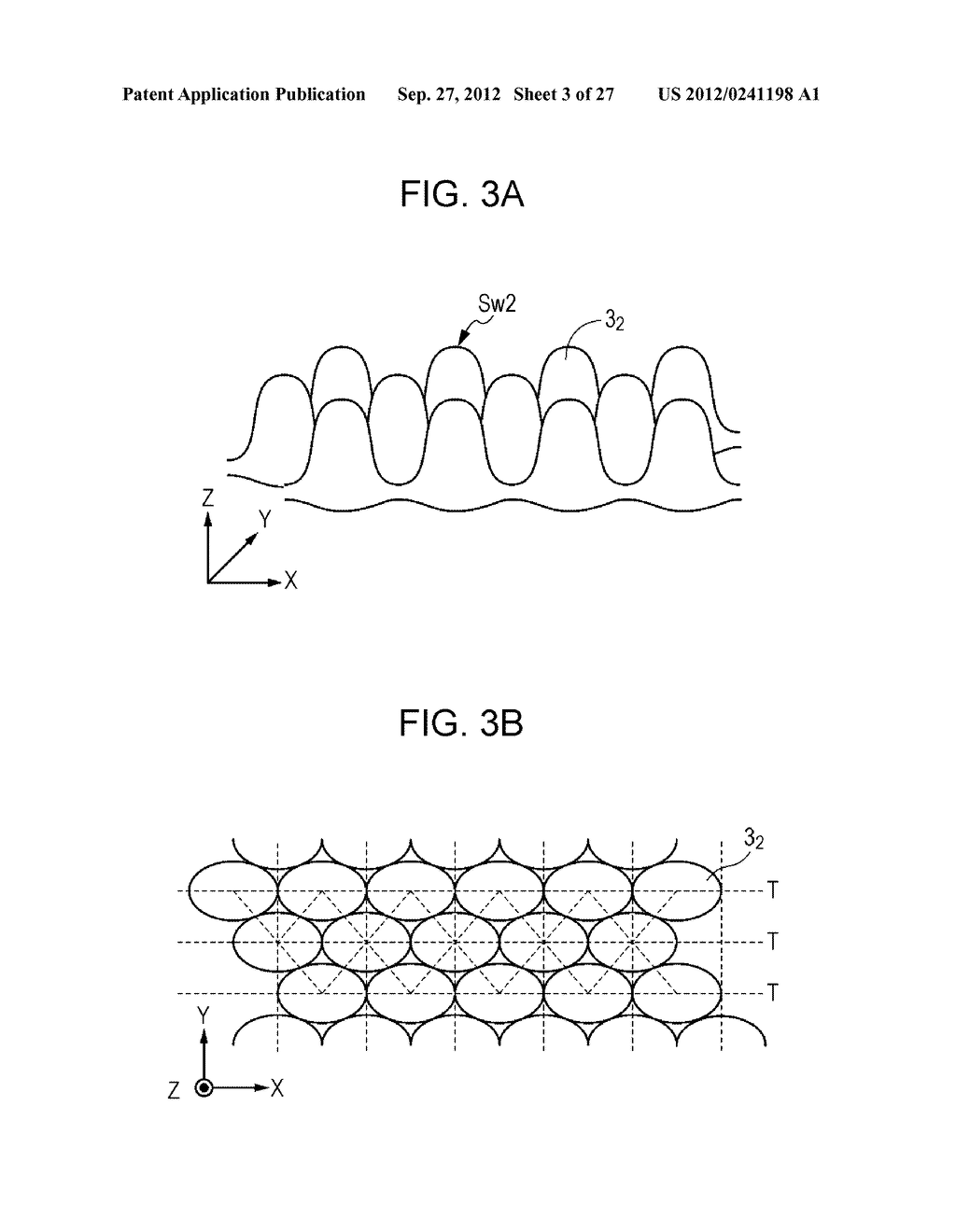 CONDUCTIVE ELEMENT AND METHOD FOR PRODUCING THE SAME, WIRING ELEMENT,     INFORMATION INPUT DEVICE, DISPLAY DEVICE, ELECTRONIC APPARATUS, AND     MASTER - diagram, schematic, and image 04