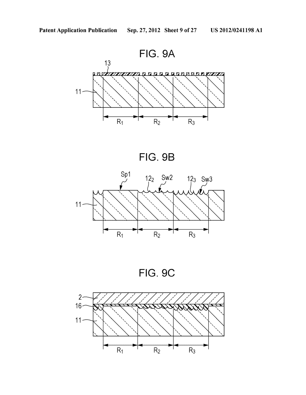 CONDUCTIVE ELEMENT AND METHOD FOR PRODUCING THE SAME, WIRING ELEMENT,     INFORMATION INPUT DEVICE, DISPLAY DEVICE, ELECTRONIC APPARATUS, AND     MASTER - diagram, schematic, and image 10