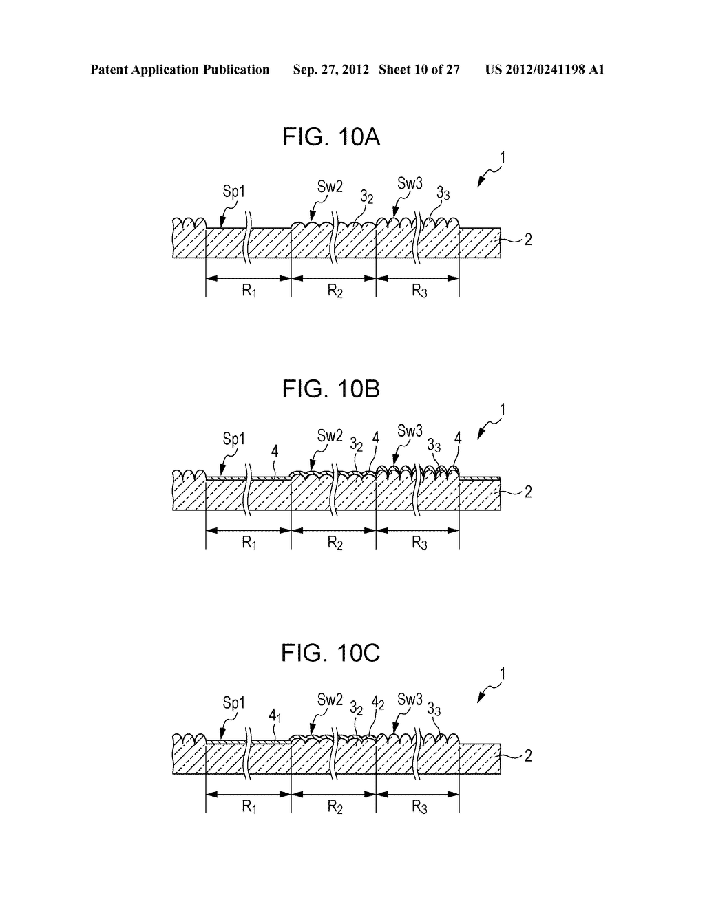 CONDUCTIVE ELEMENT AND METHOD FOR PRODUCING THE SAME, WIRING ELEMENT,     INFORMATION INPUT DEVICE, DISPLAY DEVICE, ELECTRONIC APPARATUS, AND     MASTER - diagram, schematic, and image 11