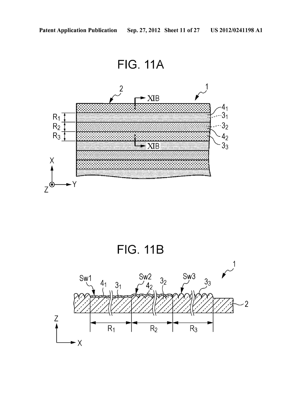 CONDUCTIVE ELEMENT AND METHOD FOR PRODUCING THE SAME, WIRING ELEMENT,     INFORMATION INPUT DEVICE, DISPLAY DEVICE, ELECTRONIC APPARATUS, AND     MASTER - diagram, schematic, and image 12