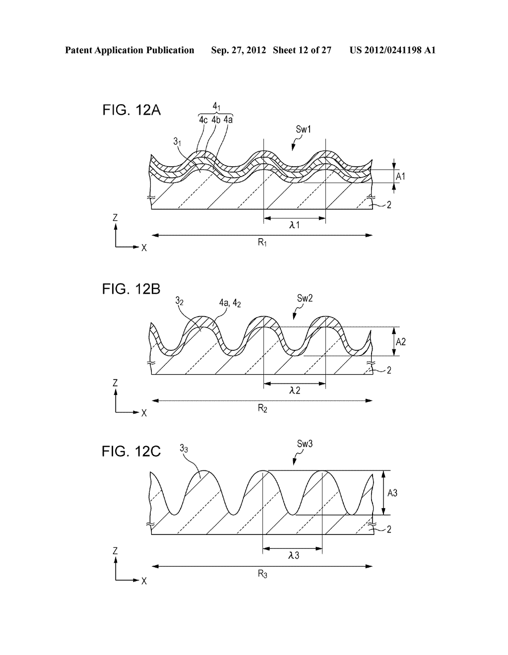 CONDUCTIVE ELEMENT AND METHOD FOR PRODUCING THE SAME, WIRING ELEMENT,     INFORMATION INPUT DEVICE, DISPLAY DEVICE, ELECTRONIC APPARATUS, AND     MASTER - diagram, schematic, and image 13